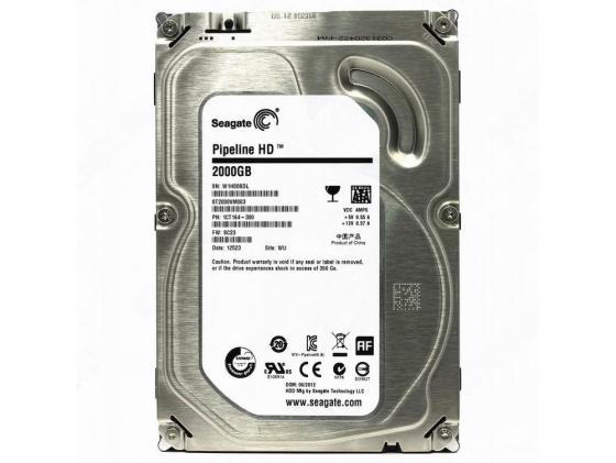 "все цены на Жесткий диск 3.5"" 2 Tb 5900rpm 64Mb cache Seagate Pipeline HD SATAII ST2000VM003"