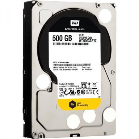 Жесткий диск 3.5 500 Gb 7200rpm 64Mb cache Western Digital RE4 SATAIII WD5003ABYZ fit for honda cbr 600 f4i 2004 2005 2006 2007 injection abs plastic motorcycle fairing kit bodywork cbr600 f4i cbr600f4i cb31