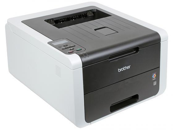 Принтер Brother HL-3170CDW цветной A4 22ppm 600x600dpi Duplex Ethernet WiFi USB цена 2017