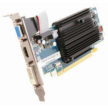 Видеокарта 1024Mb Sapphire HD6450 PCI-E D-Sub DVI HDMI 11190-02-20G Retail видеокарта sapphire 21275 02 20g