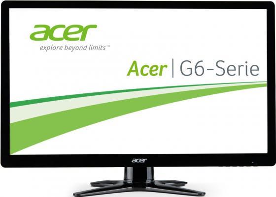 Монитор 24 Acer G246HLBbid TN 1920x1080 250 cd/m^2 2 ms DVI HDMI VGA UM.FG6EE.B02 монитор 24 benq gl2450hm черный tn 1920x1080 250 cd m^2 2 ms hdmi vga аудио dvi