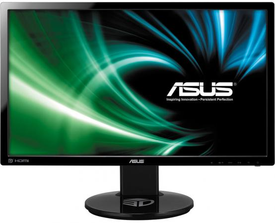 "Монитор 24"" ASUS VG248QE черный TN 1920x1080 350 cd/m^2 1 ms DVI HDMI DisplayPort Аудио 90LMGG001Q022B1C- asus vg248qe"