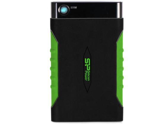 """Внешний жесткий диск 2.5"""" USB3.0 1 Tb Silicon Power Armor A15 SP010TBPHDA15S3K черный от Just.ru"""