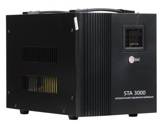 Стабилизатор напряжения Эра STA-3000 стабилизатор напряжения эра sta 3000