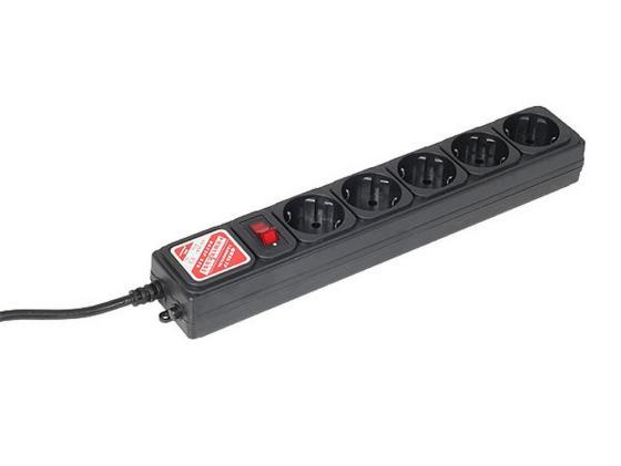Сетевой фильтр Power Cube SPG-B6 5 розеток 1.9 м черный стоимость
