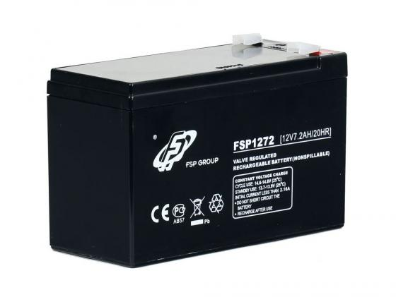 Батарея FSP 12V 7Ah 1270 батарея exegate 12v 7ah exs1270 es252436rus