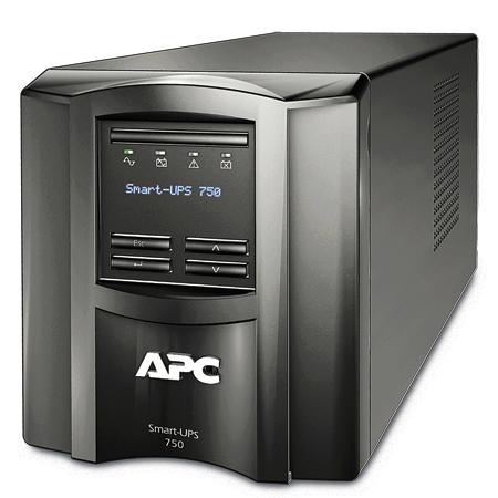 ИБП APC SMART 750VA LCD SMT750I (Smart-UPS 750VA LCD 230V)