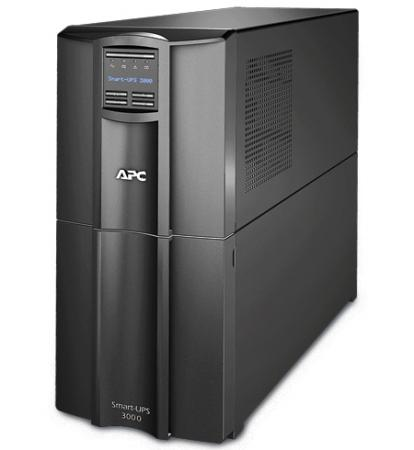 ИБП APC SMART 3000VA LCD SMT3000I ибп apc smart 2200va usb lcd smt2200rmi2u