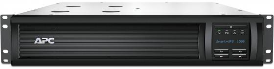 ИБП APC SMART 1500VA USB LCD SMT1500RMI2U ибп apc smart 1500va usb lcd smt1500rmi2u