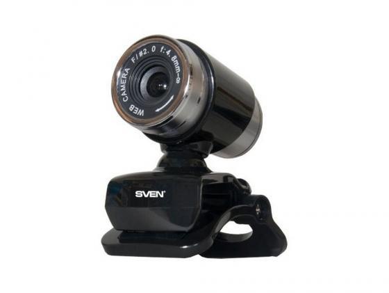 Веб-Камера SVEN IC-720 черный