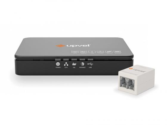 все цены на Модем ADSL UPVEL UR-101AU 1xLAN USB с поддержкой IP-TV онлайн