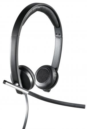 Гарнитура Logitech Headset H650e Stereo USB 981-000519 гарнитура logitech h650e wireless mono usb