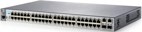 Коммутатор HP 2530-48 управляемый 48 портов 10/100Mbps 2x10/100/1000Mbps 2xSFP J9781A коммутатор hp 2530 8 poe управляемый 8 портов 10 100 1000mbps 2xsfp poe j9780a