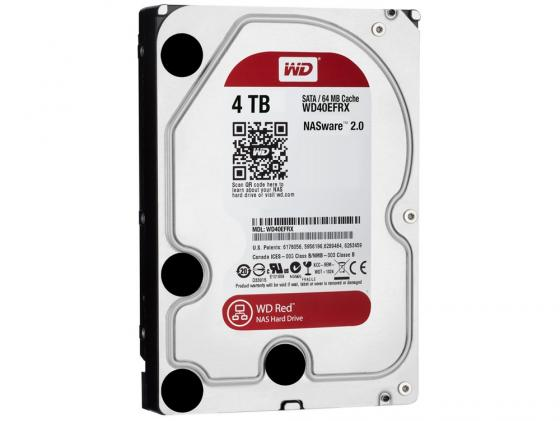 "Жесткий диск 3.5"" 4 Tb 5400rpm 64Mb cache Western Digital Red SATAIII WD40EFRX цена и фото"