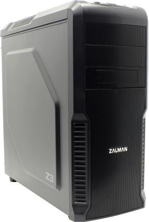 Корпус ATX Zalman Z3 Без БП чёрный корпус atx zalman x7 без бп чёрный page 3