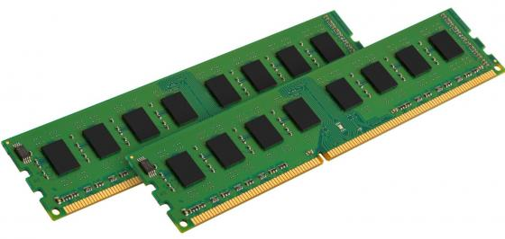 Оперативная память 8Gb (2x4Gb) PC3-10600 1333MHz DDR3 DIMM CL9 Kingston KVR13N9S8HK2/8 память оперативная ddr3 kingston 8gb 1333mhz kvr1333d3n9 8g