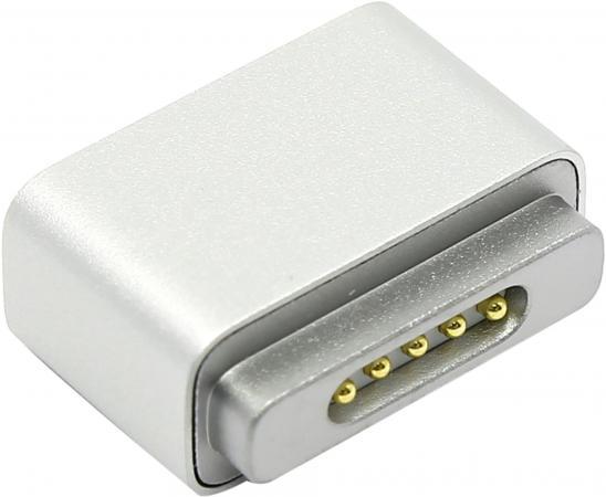 Переходник MagSafe- MagSafe 2 Apple белый MD504ZM/A 60w magsafe 2 car charger with usb port for apple macbook
