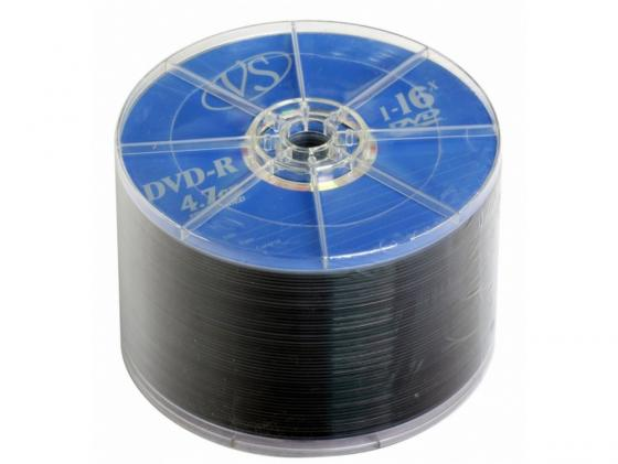 Диски DVD-R VS 16x 4.7Gb Bulk 50шт 20229 диски cd dvd thunis dvd r dvd r 16x 25