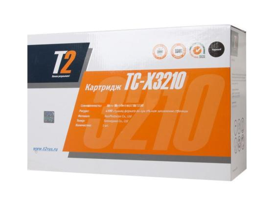 Картридж T2 TC-X3210 для WorkCentre 3210 3220 4100стр черный картридж t2 tc x3210 для xerox workcentre 3210 3220 4100 стр с чипом