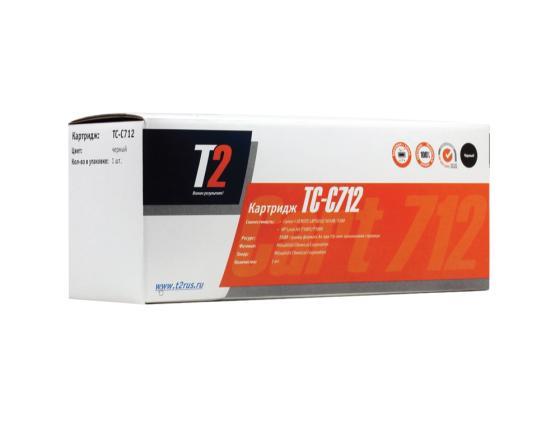 Картридж T2 TC-C712 для HP LaserJet P1005 P1006 Canon i-Sensys LBP 3010 3100 1500стр картридж t2 tc c729b для canon i sensys lbp7010c 7018c hp laserjet pro cp1025 1025nw pro 100 mfp