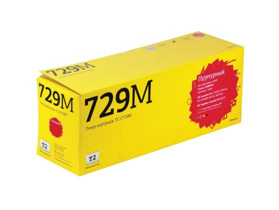 Картридж T2 TC-C729M для Canon i-SENSYS LBP7010C 7018C HP LaserJet Pro CP1025 1025nw Pro 100 MFP пурпурный футболка mini maxi mini maxi mp002xg007p3