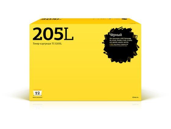Картридж T2 TC-S205L для Samsung ML-3310D 3310ND 3710ND 3710D SCX-4833FR 4833FD 5637FR 5000стр картридж sakura mltd205s для samsung ml 3310d 3310nd 3710d 3710nd scx 4833fd 4833fr 563 черный 2000 к