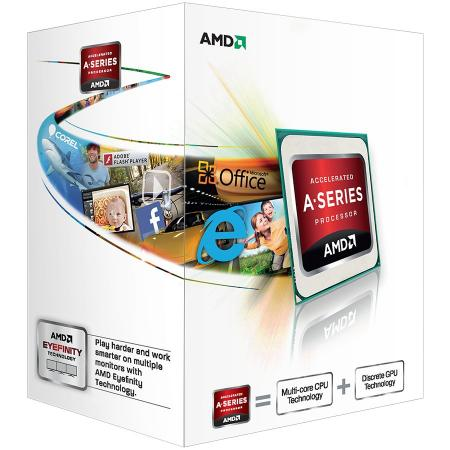 Процессор AMD A4 4000 AD4000OKHLBOX Socket FM2 BOX