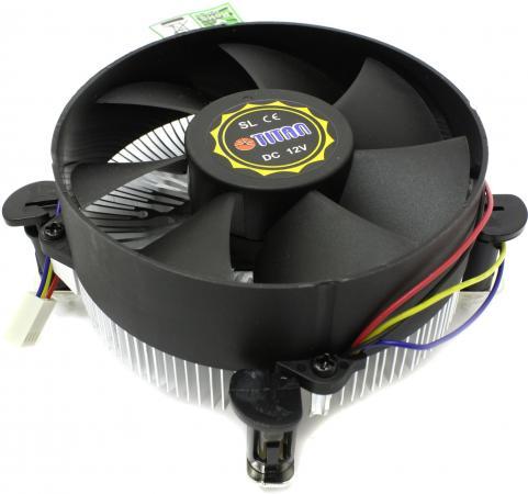 Кулер для процессора Titan DC-156V925Z/X/RPW Socket 1155/1156 вен тор titan tfd 5010m12z 4500rpm 50x50x10 z axis