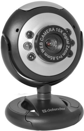 Веб-Камера Defender C-110 черный 63110 веб камера defender c 090 черный 63090