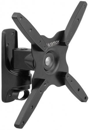 Кронштейн Kromax ASTRA-7 Серый 17-37 3 степени свободы 3D вращение VESA 200х200мм до 25кг