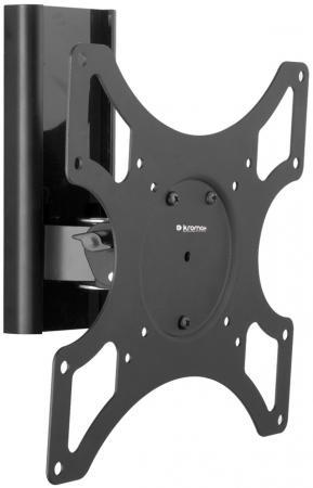 Кронштейн Kromax TITAN-7 Черный до 37 3 степени свободы VESA 200х200мм до 25кг kromax titan 9 17 37