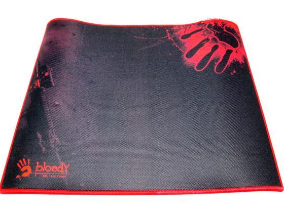 лучшая цена Коврик для мыши A4tech B-080 черный с рисунком