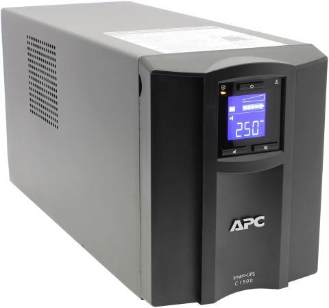 ИБП APC SMART SMC1500I 1500VA ибп apc by schneider electric smart ups c 1500va lcd smc1500i