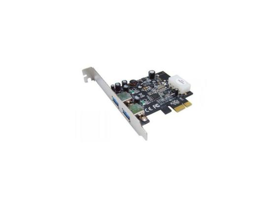 Контроллер PCI-E ST-Lab U710 2 ext USB 3.0 Retail контроллер orient a1061s sata 3 2 ext 2 in port asmedia asm1061 pci e v 2 0 ret