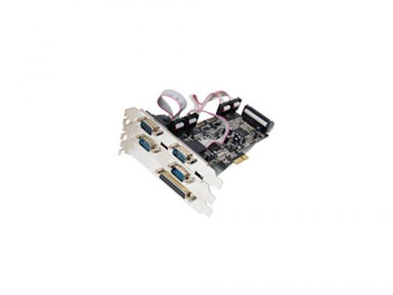 Контроллер PCI-E ST-Lab I461 4xCOM+1xLPT Retail контроллер pci e st lab a331 sata raid 2ext 2int si3132 retail