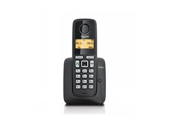Фото Радиотелефон DECT Gigaset A220A черный радиотелефон dect gigaset e630h черный