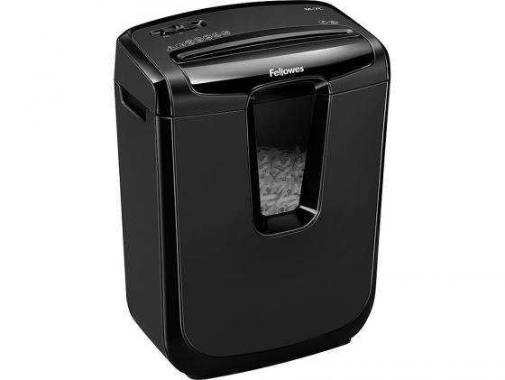Уничтожитель бумаг Fellowes Powershred M-8C 8листов 15л FS-4604101/CRC46041 fellowes powershred m 8c black шредер