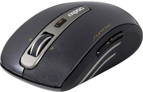 Мышь беспроводная Rapoo 3920P чёрный USB 12070 мышь rapoo 3920p black