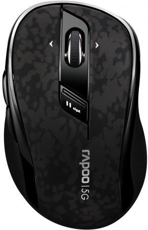 Мышь беспроводная Rapoo 7100P чёрный USB 10829 беспроводная мышь rapoo