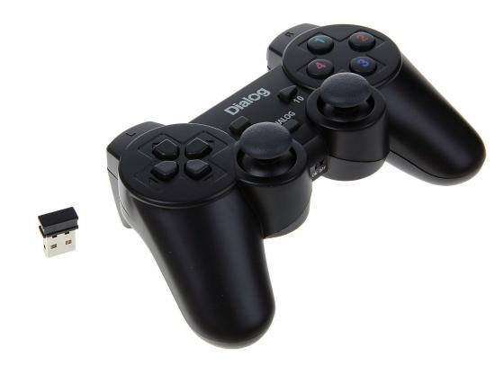 Геймпад Dialog Action GP-A11RF черный USB dialog action gp a01 black