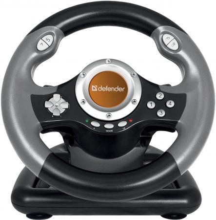 все цены на Руль + педали DEFENDER Challenge Mini LE, 8 кн., USB 64351