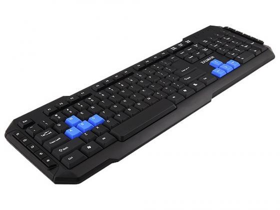 все цены на Клавиатура проводная Zalman ZM-K200M USB черный онлайн