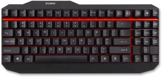 Клавиатура проводная Zalman ZM-K500 Black USB черный клавиатура zalman zm k500