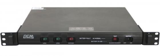 ИБП Powercom KIN-1000AP RM 1000VA/600W 1U USB черный
