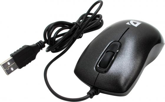 Мышь проводная DEFENDER Orion 300 B чёрный USB 52813