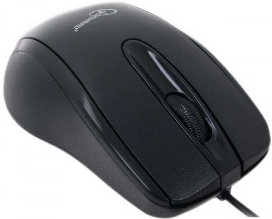 Мышь проводная Gembird MUSOPTI8-801U чёрный USB мышь проводная gembird musopti8 809u чёрный красный usb
