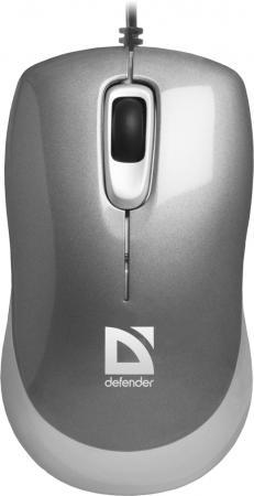 Мышь проводная DEFENDER Orion 300 серый USB 52817 orion soft touch 300 140 x 200