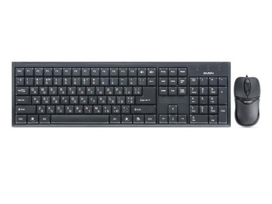 Комплект SVEN Standard 310 Combo черный USB