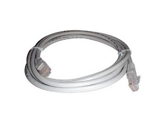 Патч-корд 5E категории Aopen ANP511 UTP 1м серый патч корд 5e категории aopen anp511 utp 1м красный