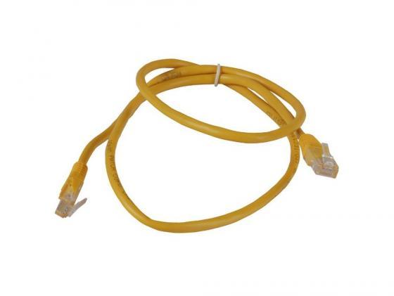 Патч-корд 5E категории Aopen ANP511 UTP 1м желтый патч корд 5e категории aopen anp511 utp 1м красный